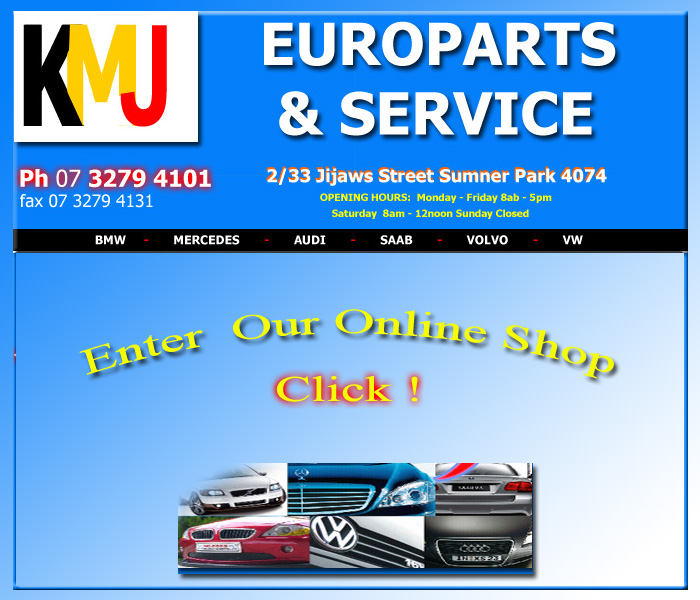 European Parts Brisbane Bmw Benz Spare Audi Saab Vw Volvo